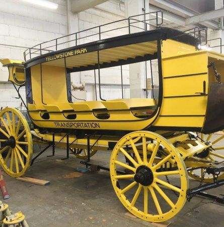 Building a Yellowstone Stagecoach
