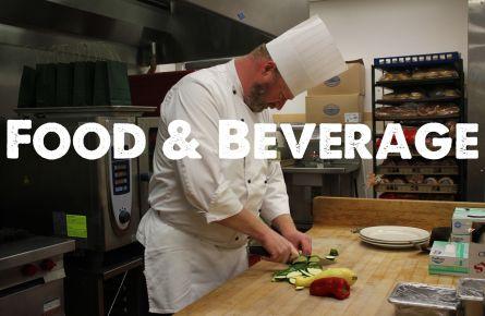 A chef peeling vegetables.