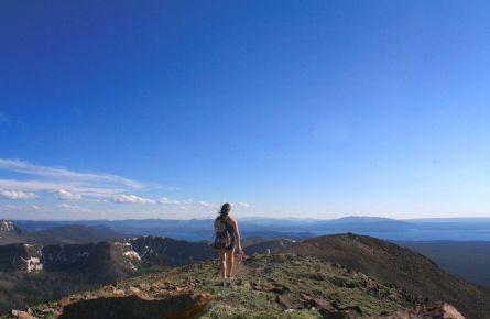 Karley Nugent mountain hiking
