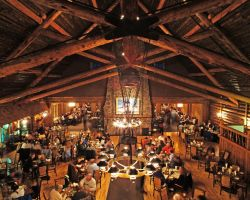 Old Faithful dining room