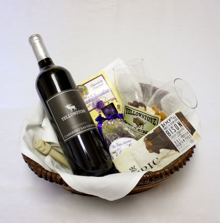 Red wine basket