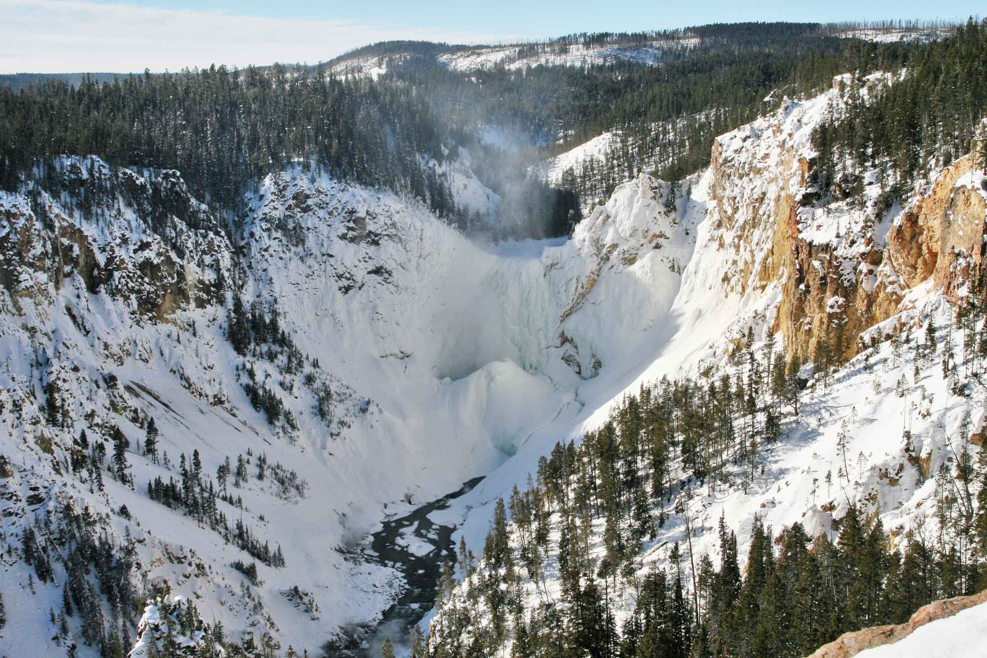 5 reasons to visit yellowstone this winter for Warm weather vacations in february