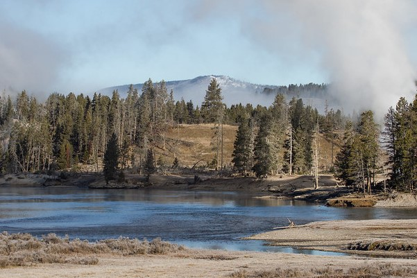 Yellowstone River near Mud Volcano