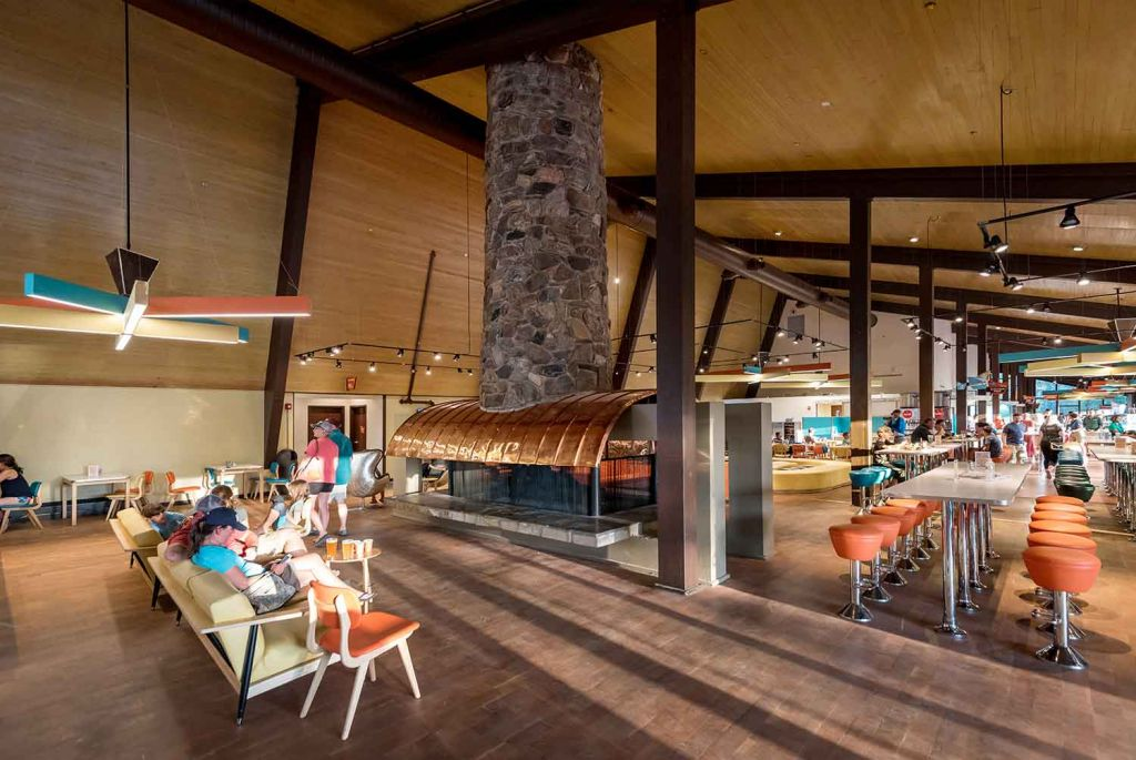 Lobby of the Canyon Lodge