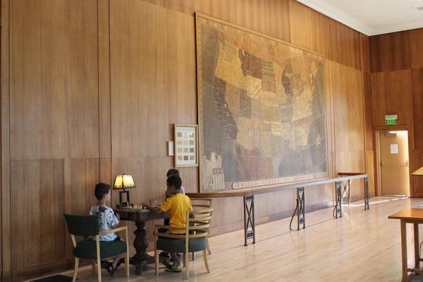 Mammoth Hotel's Map Room