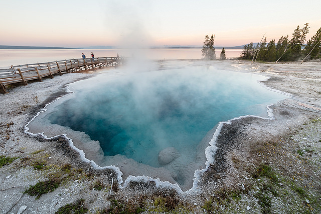 Hot Spring, West Thumb Geyser Basin