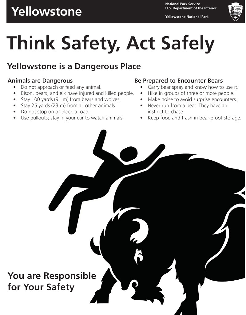 Think Safe, Act Safe Poster
