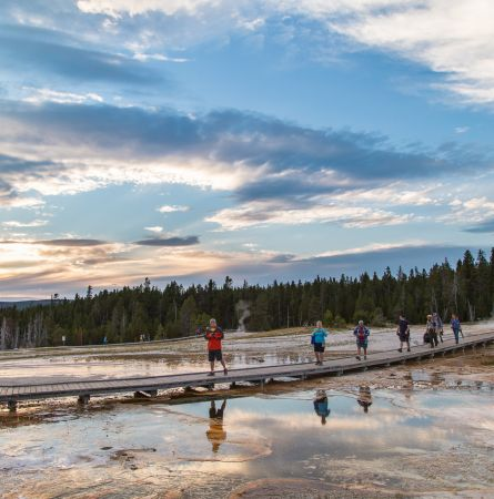 Itinerary: Yellowstone in Two Days