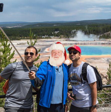 Santa Vacations in Yellowstone