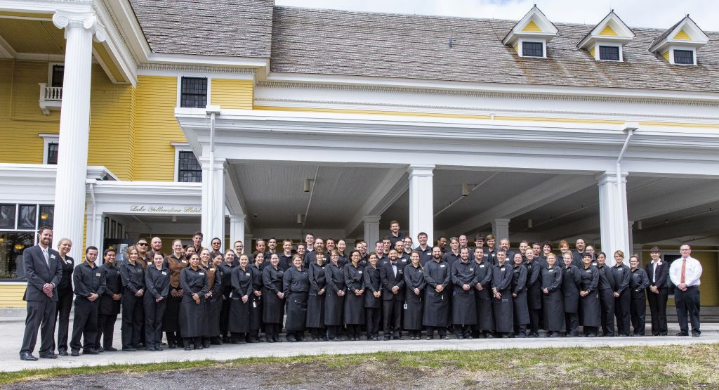 Lake Hotel Food & Beverage staff