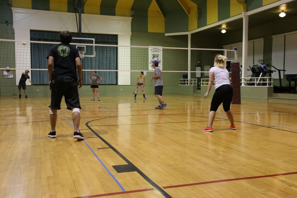 employee volleyball