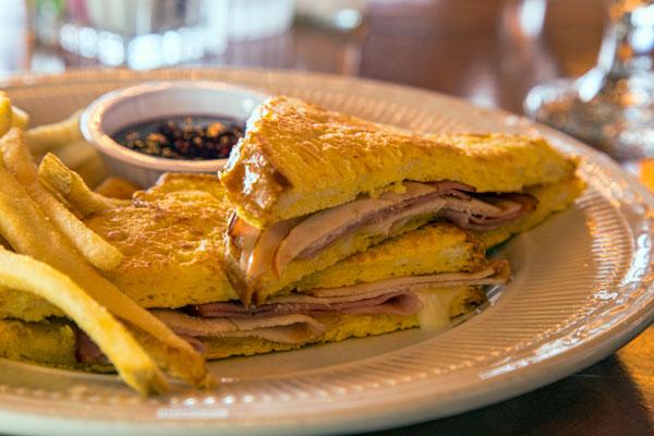 Grilled Parmesan-Crusted Turkey Sandwich