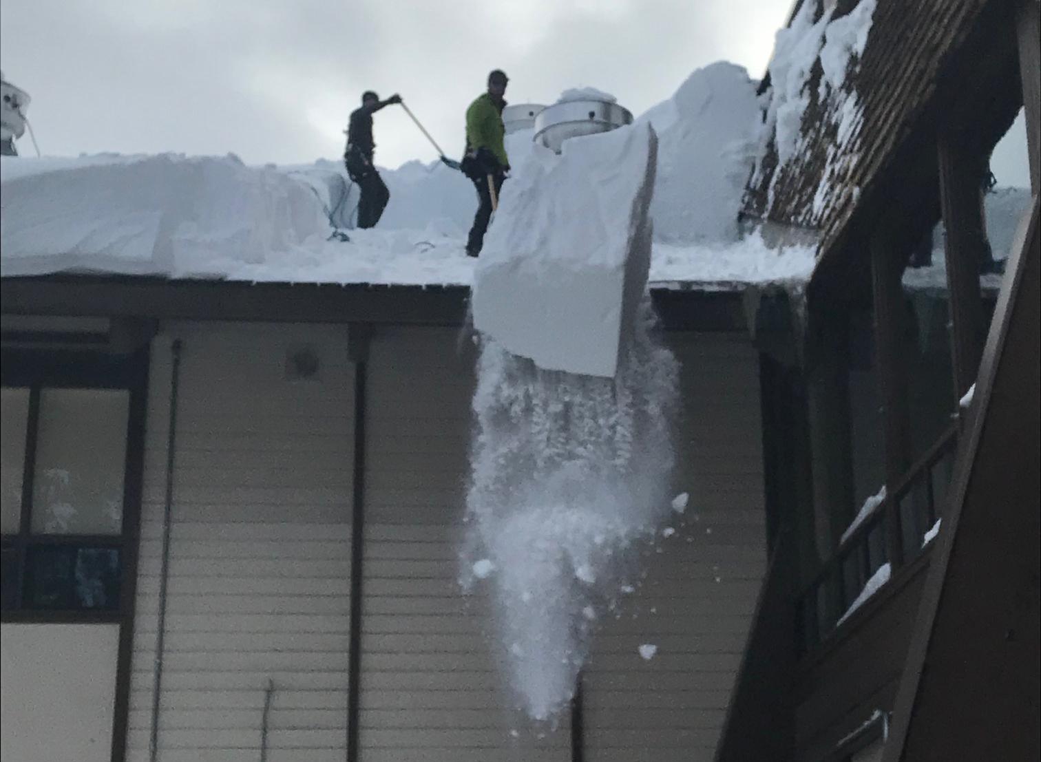 Snow Removal at Canyon Lodge