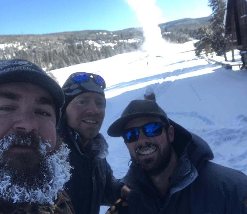 Old Faithful Inn Snow Removal
