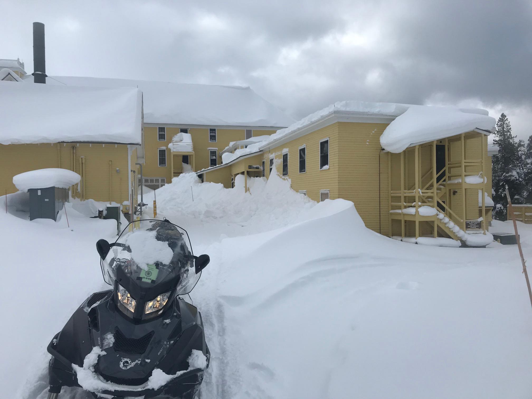 Snow Removal at Lake Hotel