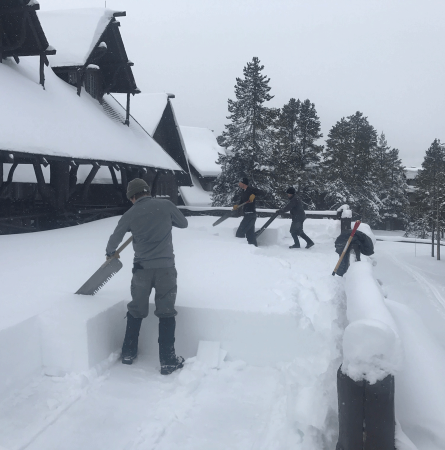 The Life of a Yellowstone Winterkeeper