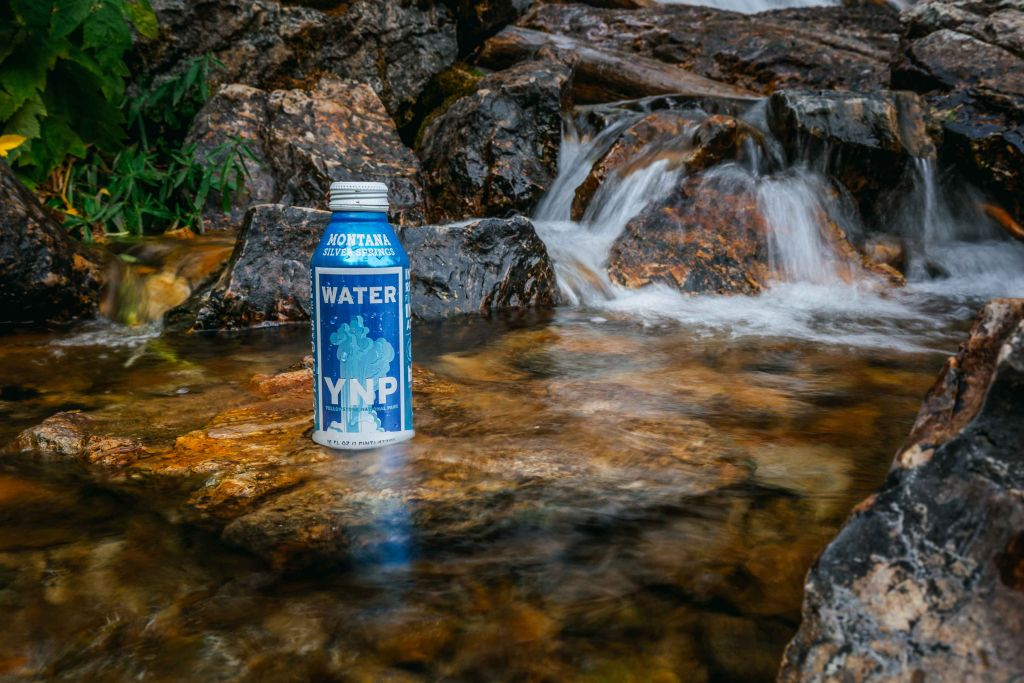 water in a can