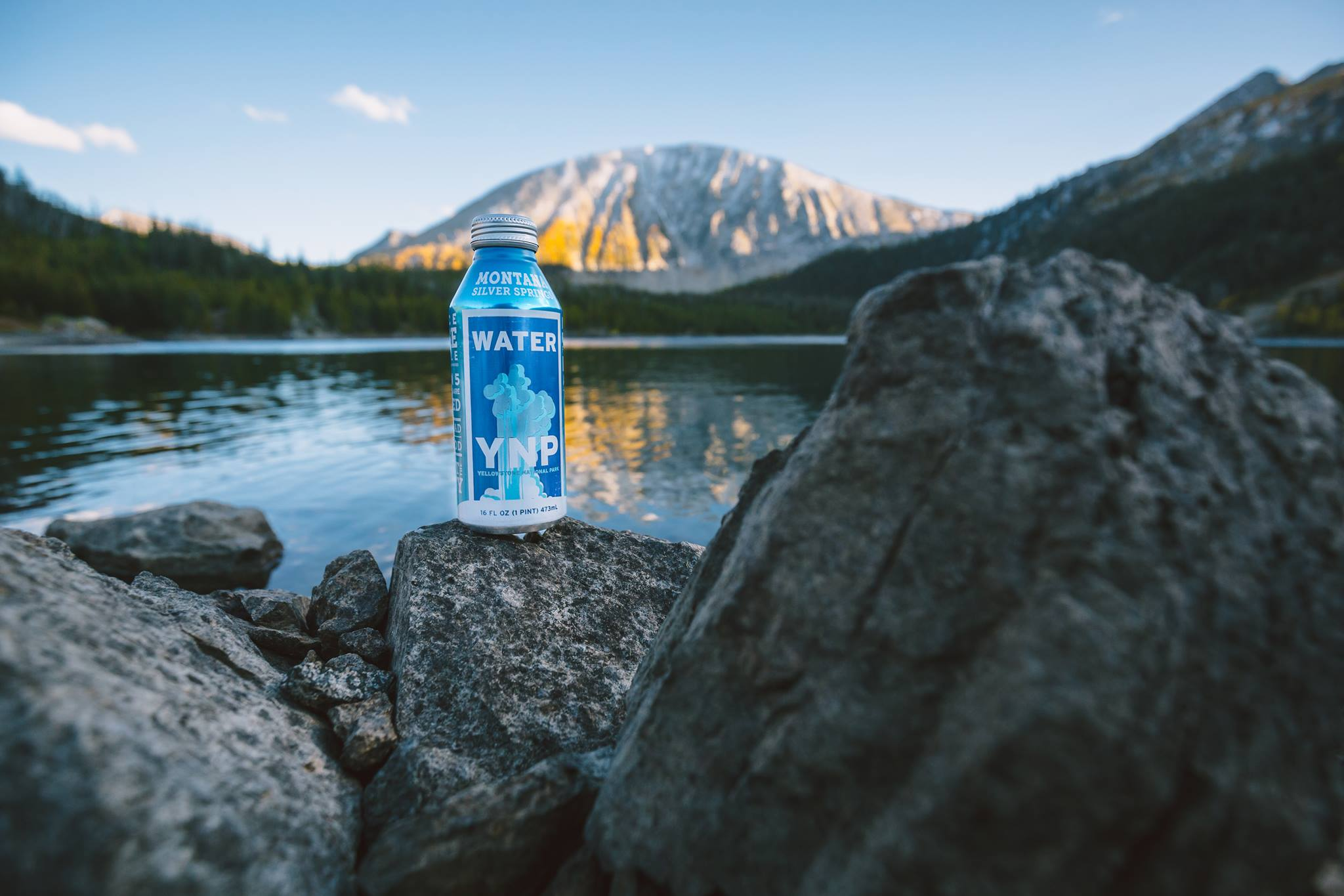 Yellowstone water in a can
