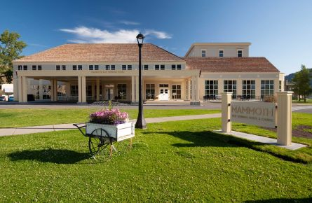 Renovated Exterior of the Mammoth Hot Springs Hotel