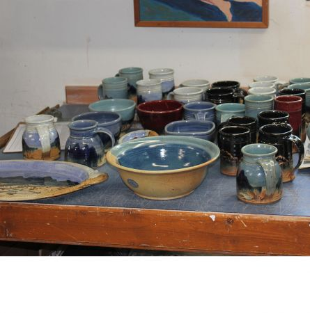 Captured In Clay: Memories From Yellowstone's Resident/Visiting Potter