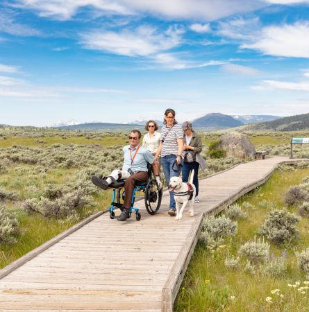 Wheeling It: Accessibility Guide to Yellowstone National Park